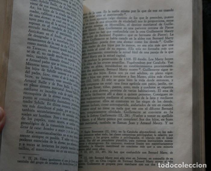 Libros antiguos: MONTAILLOU ALDEA OCCITANA DE 1294 A 1324 - EMMANUEL LE ROY LADURIE - Foto 4 - 135838422