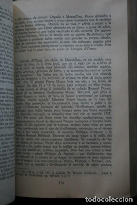 Libros antiguos: MONTAILLOU ALDEA OCCITANA DE 1294 A 1324 - EMMANUEL LE ROY LADURIE - Foto 5 - 135838422