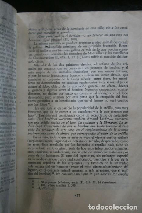 Libros antiguos: MONTAILLOU ALDEA OCCITANA DE 1294 A 1324 - EMMANUEL LE ROY LADURIE - Foto 6 - 135838422