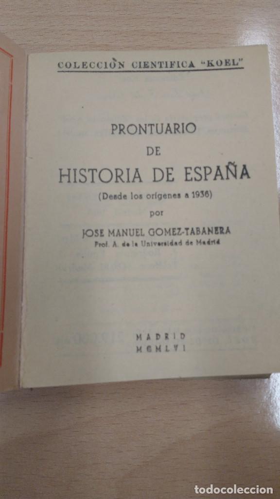Libros antiguos: MINI LIBRO KOEL . HISTORIA DE ESPAÑA Nº 10. AÑO 1956. - Foto 2 - 135876510