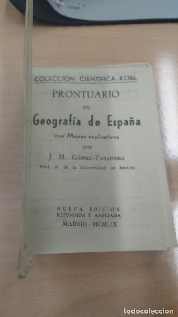 Libros antiguos: MINI LIBRO KOEL GEOGRAFIA DE ESPAÑA. AÑO 1959 - Foto 2 - 135877334