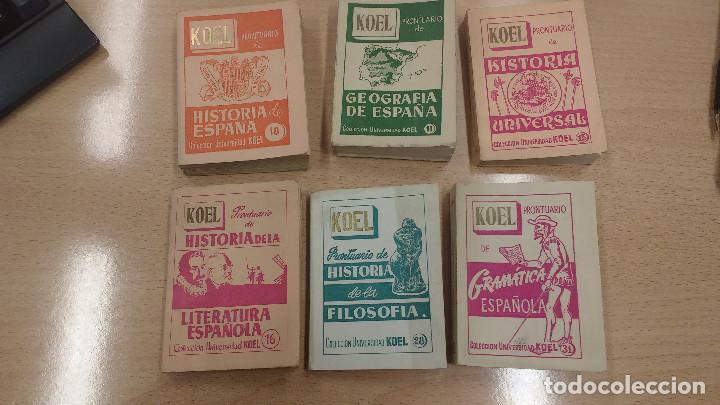 LOTE DE MINI LIBROS KOEL (Libros Antiguos, Raros y Curiosos - Literatura - Otros)