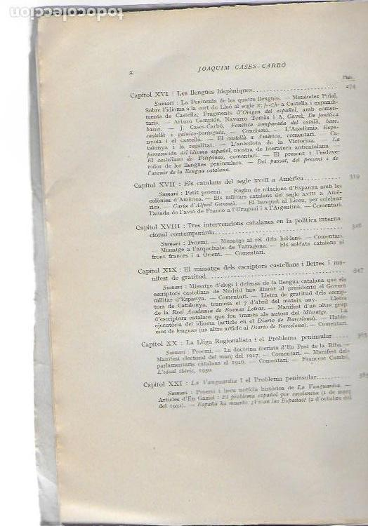 Libros antiguos: El problema peninsular. Historia duna campanya epistolar a favor de l autonomía de Catalunya.../ J - Foto 5 - 135318970