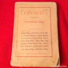 Libros antiguos: REVISTA IBERO - AMERICANA CERVANTES, AÑO II, NÚMERO VIII, MADRID, MARZO 1917, VARIOS AUTORES, V FOTO. Lote 136011650