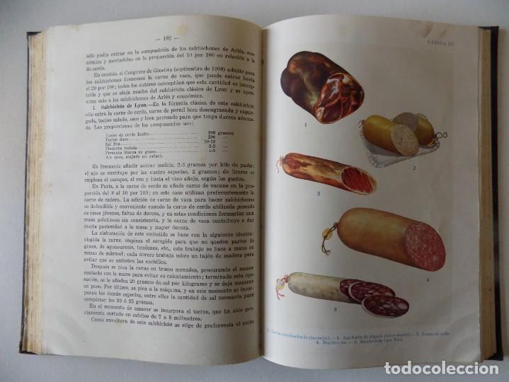 Libros antiguos: LIBRERIA GHOTICA. SANZ EGAÑA. CHACINERIA MODERNA. 1945. FOLIO. MUY ILUSTRADO. - Foto 2 - 136015814