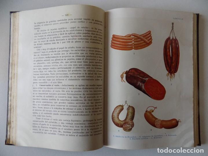 Libros antiguos: LIBRERIA GHOTICA. SANZ EGAÑA. CHACINERIA MODERNA. 1945. FOLIO. MUY ILUSTRADO. - Foto 3 - 136015814