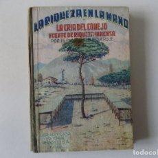 Libros antiguos: LIBRERIA GHOTICA. FERNANDO ALBURQUERQUE. LA CRIA DEL CONEJO FUENTE DE RIQUEZA INMENSA.1951.ILUSTRADO. Lote 136018494