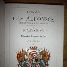 Libros antiguos: HISTORIA DE LOS ALFONSOS DE CASTILLA Y ARAGON - AÑO 1875 - S.G.ENRICH - MONUMENTAL OBRA ILUSTRADA.. Lote 136018874
