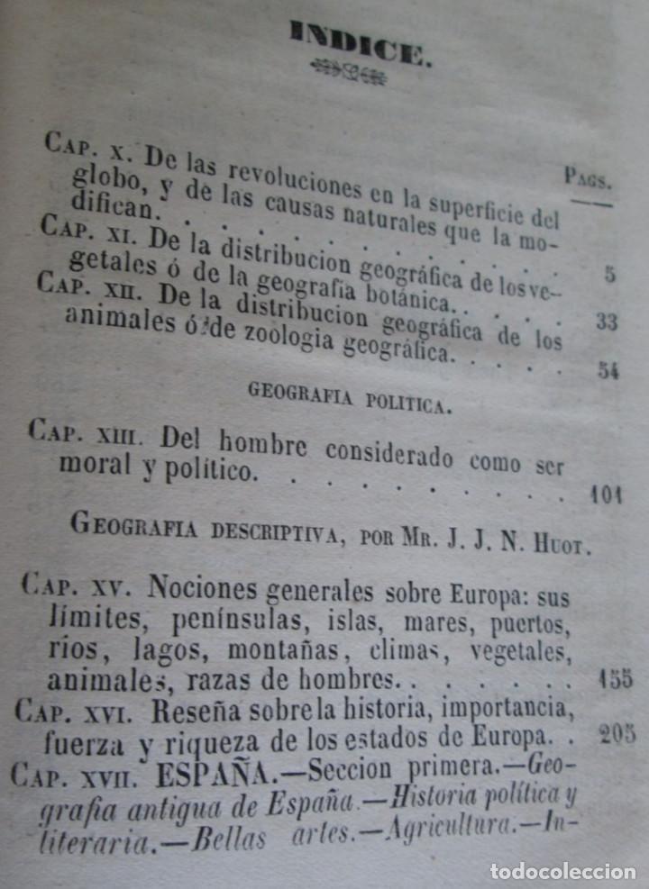 Libros antiguos: GEOGRAFÍA UNIVERSAL - Física, historia, política, antigua y moderna Por Malte Brun Tm 2 Madrid 1850 - Foto 2 - 136066194