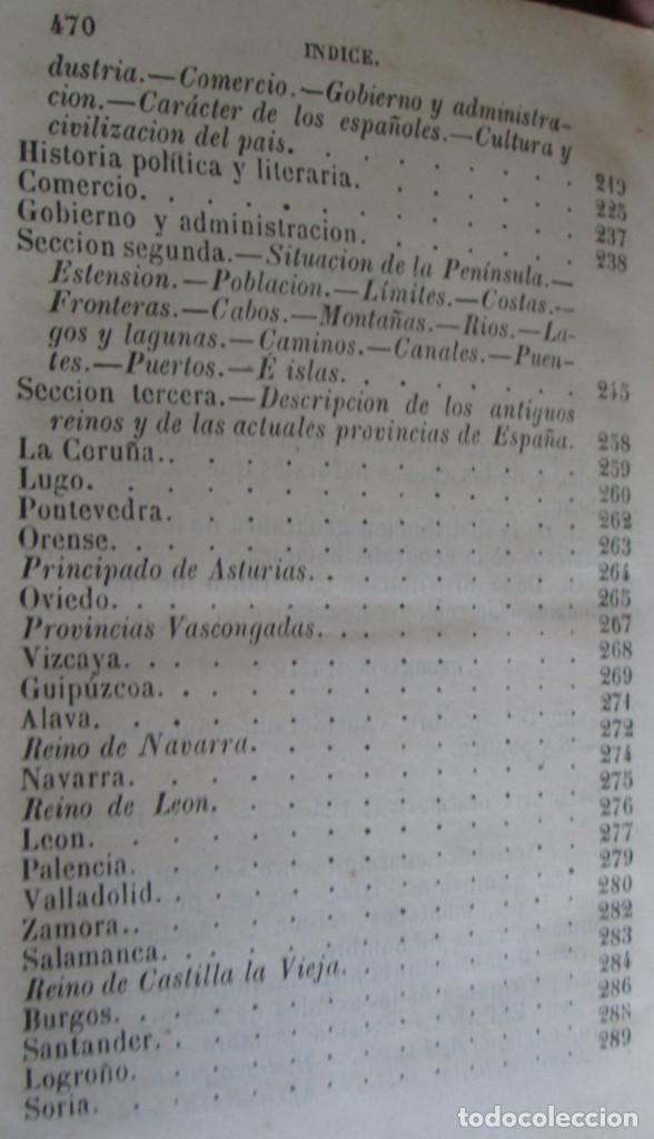 Libros antiguos: GEOGRAFÍA UNIVERSAL - Física, historia, política, antigua y moderna Por Malte Brun Tm 2 Madrid 1850 - Foto 3 - 136066194