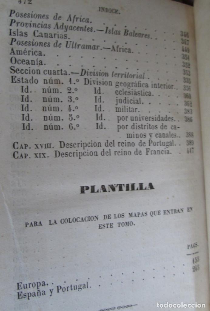 Libros antiguos: GEOGRAFÍA UNIVERSAL - Física, historia, política, antigua y moderna Por Malte Brun Tm 2 Madrid 1850 - Foto 5 - 136066194