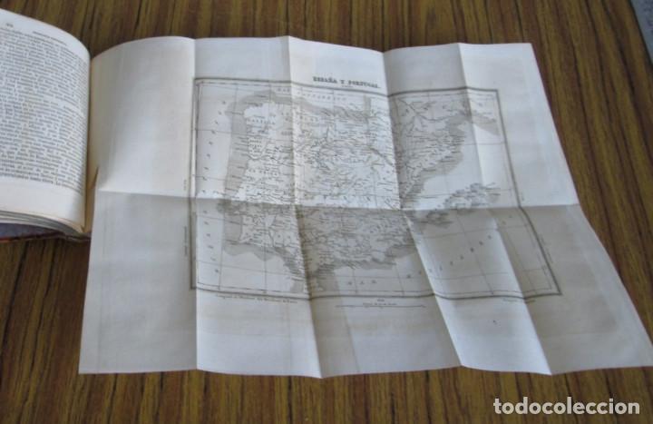 Libros antiguos: GEOGRAFÍA UNIVERSAL - Física, historia, política, antigua y moderna Por Malte Brun Tm 2 Madrid 1850 - Foto 6 - 136066194