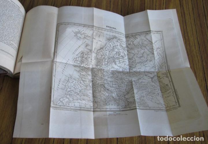 Libros antiguos: GEOGRAFÍA UNIVERSAL - Física, historia, política, antigua y moderna Por Malte Brun Tm 2 Madrid 1850 - Foto 7 - 136066194