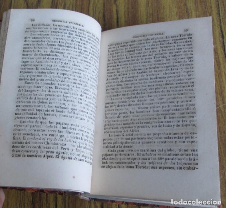 Libros antiguos: GEOGRAFÍA UNIVERSAL - Física, historia, política, antigua y moderna Por Malte Brun Tm 2 Madrid 1850 - Foto 9 - 136066194