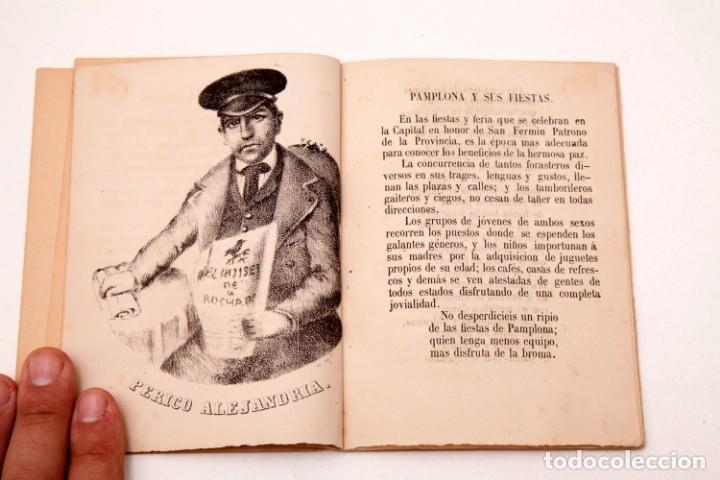 Libros antiguos: LA CARTERA DEL RÚSTICO - COSTUMBRES POPULARES DE NAVARRA Y SU CAPITAL - 1864 - PEDRO ALEJANDRÍA - Foto 5 - 136125174