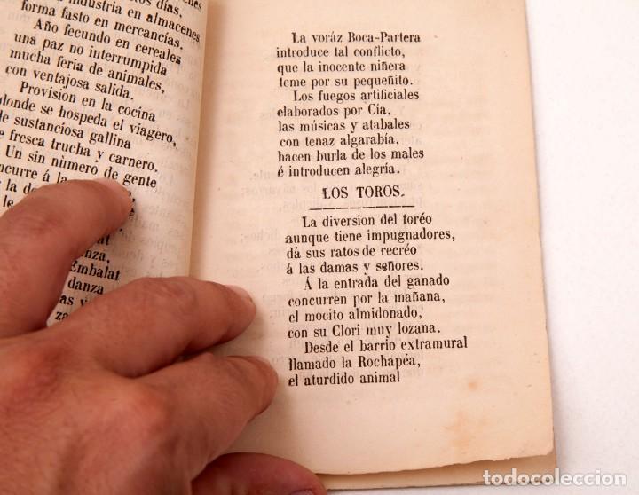 Libros antiguos: LA CARTERA DEL RÚSTICO - COSTUMBRES POPULARES DE NAVARRA Y SU CAPITAL - 1864 - PEDRO ALEJANDRÍA - Foto 6 - 136125174