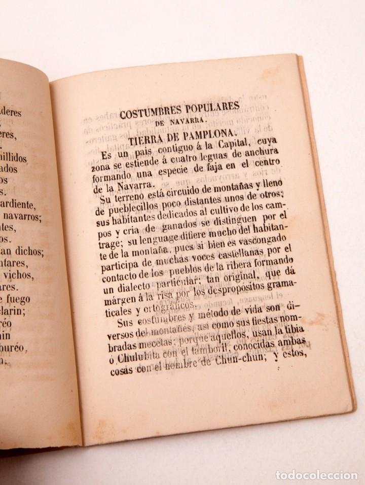 Libros antiguos: LA CARTERA DEL RÚSTICO - COSTUMBRES POPULARES DE NAVARRA Y SU CAPITAL - 1864 - PEDRO ALEJANDRÍA - Foto 7 - 136125174