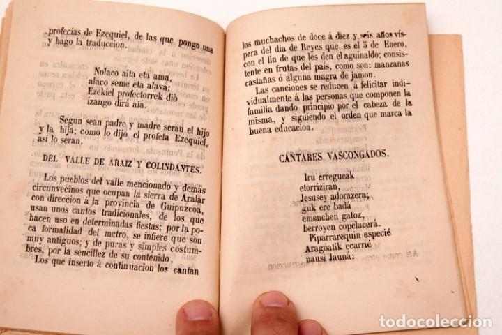 Libros antiguos: LA CARTERA DEL RÚSTICO - COSTUMBRES POPULARES DE NAVARRA Y SU CAPITAL - 1864 - PEDRO ALEJANDRÍA - Foto 8 - 136125174