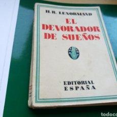 Libros antiguos: LIBRO EL DEVORADOR DE SUEÑOS. LENORMAND. MADRID. 1931. Lote 136129930