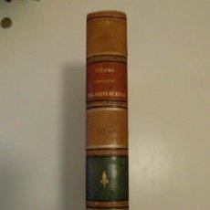 Libros antiguos: OBRAS COMPLETAS DE D. ANGEL DE SAAVEDRA. DUQUE DE RIVAS. 1884. DOS TOMOS EN 1 VOLUMEN. Lote 136206066