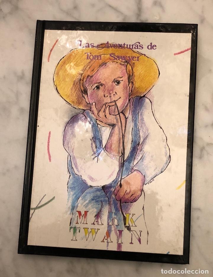 LIBROS DE AVENTURAS 6 (48€)(8€/UND)-TOMO4-LAS AVENTURAS DE TOMSAWYER-MARKTWAIN(8€) (Libros Antiguos, Raros y Curiosos - Literatura Infantil y Juvenil - Otros)