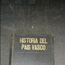 Libros antiguos: HISTORIA DEL PAÍS VASCO. ESTORNÉS LASA. HISTORIA DEL PUEBLO VASCO. MUCHA ILUSTRACIÓN.. Lote 136248282