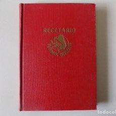 Libros antiguos: LIBRERIA GHOTICA. MARC DAZIN. RECETARIO TURMIX BERRENS.1949. ILUSTRADO. GASTRONOMIA.. Lote 136256034