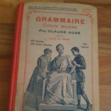 Libros antiguos: GRAMMAIRE. Lote 136265638