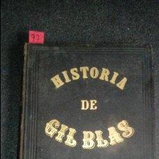 Libros antiguos: GIL BLAS DE SANTILLANA.TRADUCCIÓN ESPAÑOL.. Lote 136266978