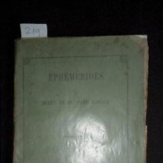 Libros antiguos: EFEMERIDES DE BEARN Y PAIS VASCO. HISTORIA DEL PAIS VASCO. Lote 136267334