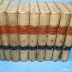 Libros antiguos: HISTORIA CRÍTICA (CIVIL Y ECLESIÁSTICA) DE CATALUÑA.- BOFARULL I BROCÁ, ANTONIO DE. 9VOL OBRA COMPLE. Lote 136295442