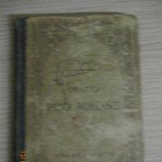 Libros antiguos: M. TULLI CICERONIS. PRO T. ANNIO MILONE. ORATIO AD JUDICES. TEXTE LATIN. PASCAL MONET. PARIS. Lote 136298078
