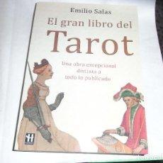 Libros antiguos: EMILIO SALAS, EL GRAN LIBRO DEL TAROT. Lote 136318154