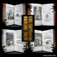 Libros antiguos: AÑO 1795 FÁBULAS Y TEATRO DE FLORIAN 4 TOMOS EN 2 VOLÚMENES GRABADOS FRONTISPICIOS PARÍS. Lote 136320486