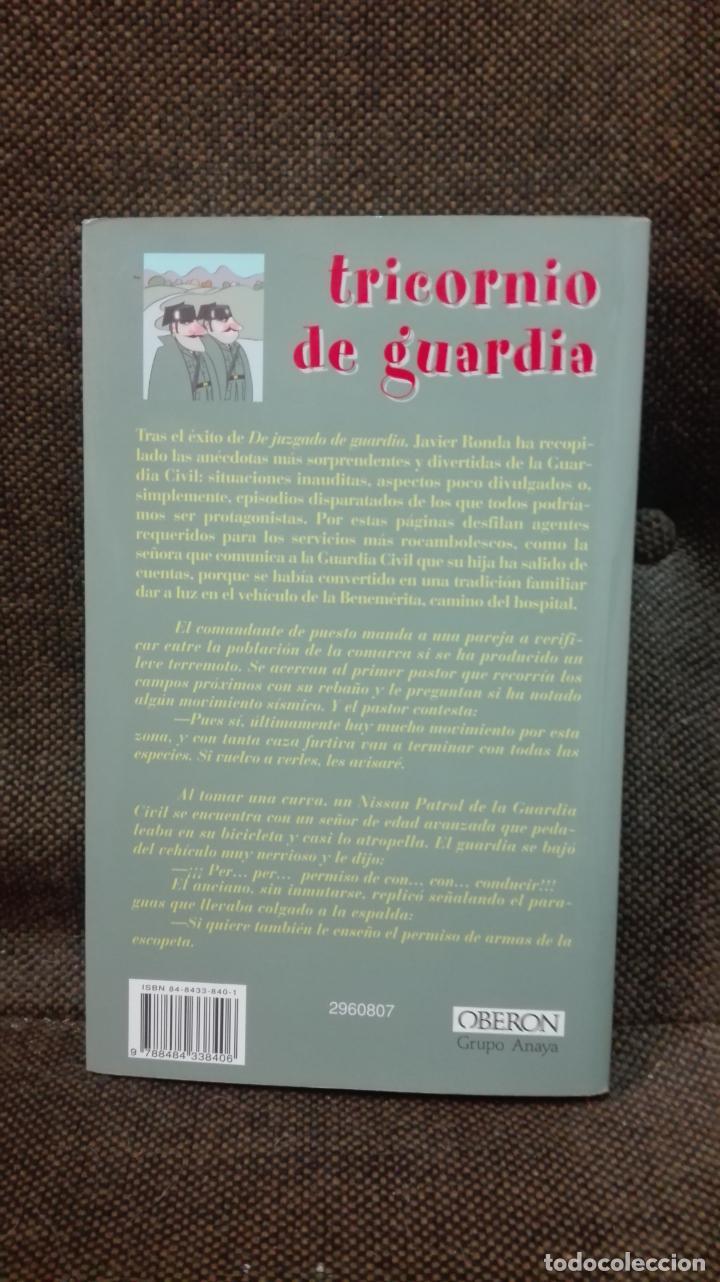 Libros antiguos: tricornio de guardia javier ronda ilustraciones de siro - Foto 2 - 136350698