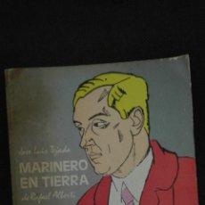 Libros antiguos: MARINERO EN TIERRA JOSE LUIS TEJADA (DE RAFAEL ALBERTI). Lote 136351334