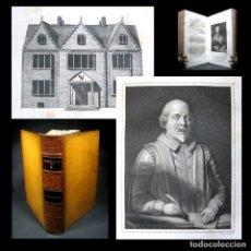 Libros antiguos: AÑO 1821 VIDA DE WILLIAM SHAKESPEARE GRABADOS A PLENA PÁGINA RARO EN COMERCIO LONDRES. Lote 136489762