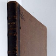 Libros antiguos: TRAITÉ COMPLET DE LA FILATURE DU COTON – ATLAS M.ALCAN 1864. Lote 136508010