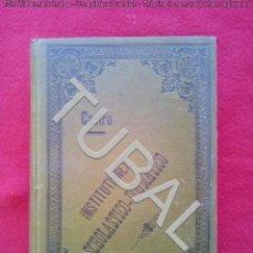 Libros antiguos: TUBAL 1896 CASTRO ALONSO INSTITUTIONES SCHOLASTICO - DOGMATICO TOMUS SEXTUS 950 GRS. Lote 136555198