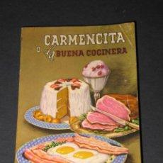Libros antiguos: CARMENCITA O LA BUENA COCINERA - EDICIÓN 38 - AÑO 1966. Lote 136603710