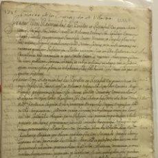 Libros antiguos: [MANUSCRITO. ORDEN DE SAN JUAN DE JERUSALÉN.] [NOMBRAMIENTO DE COMENDADOR. ENCOMIENDA DE VILLALBA.]. Lote 136605082