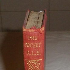 Libros antiguos: THE POCKET R.L.S BEING FAVOURITE PASSGES FTOM THE WORKS OF STEVENSON AÑO 1905. Lote 136648642
