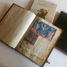 Libros antiguos: LIBRO DE LOS CABALLEROS DE LA COFRADIA DE SANTIAGO FACSÍMIL. Lote 136679854