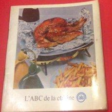 Libros antiguos: COCINA, L'ABC DE LA CUISINE ALU 1961 RECETAS. Lote 136697222