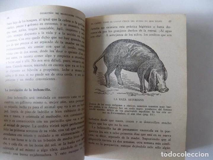 Libros antiguos: LIBRERIA GHOTICA. FERNANDO ALBURQUERQUE. EL CERDO. LA RIQUEZA EN LA MANO.1958. ILUSTRADO. - Foto 3 - 136740062