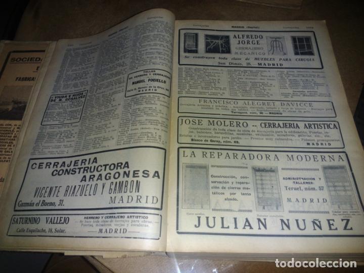 Libros antiguos: Interesante Libro tipo guía de negocios del año 1927, ver fotos - Foto 3 - 136742238