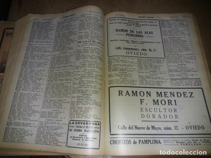 Libros antiguos: Interesante Libro tipo guía de negocios del año 1927, ver fotos - Foto 8 - 136742238