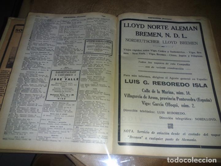 Libros antiguos: Interesante Libro tipo guía de negocios del año 1927, ver fotos - Foto 10 - 136742238