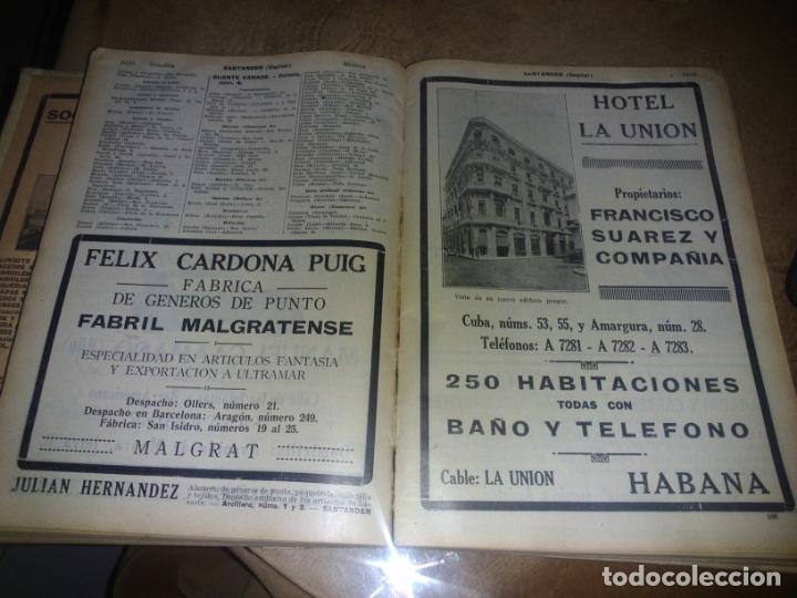 Libros antiguos: Interesante Libro tipo guía de negocios del año 1927, ver fotos - Foto 12 - 136742238