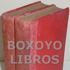 Libros antiguos: ZOLA, EMILIO. ROMA. TRADUCCIÓN Y PRÓLOGO DE AGUSTÍN DE CARREAU. TOMOS I Y II. Lote 134251499